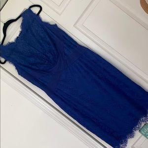 Blue Wedding Guest Dress 👗